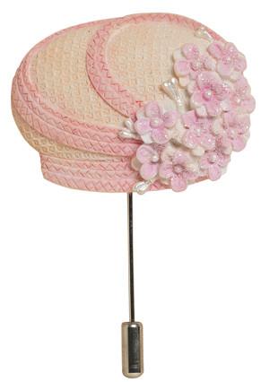 Sister Moore Hat Pin - Harriet Rosebud