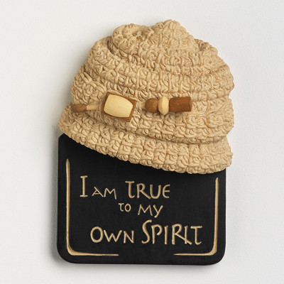I Am True to My Own Spirit Magnet - Harriet Rosebud