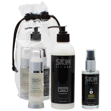 Anti-Aging Skin Care Kit Free Peptide