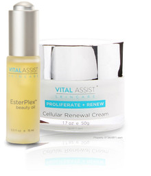 Vital Assist Renewal Cream & EsterPlex Beauty Oil