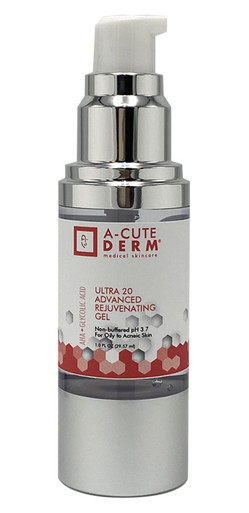 20% Glycolic Acid Gel A-Cute Derm