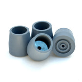Steel-Reinforced Rubber Tips - 2 Pairs