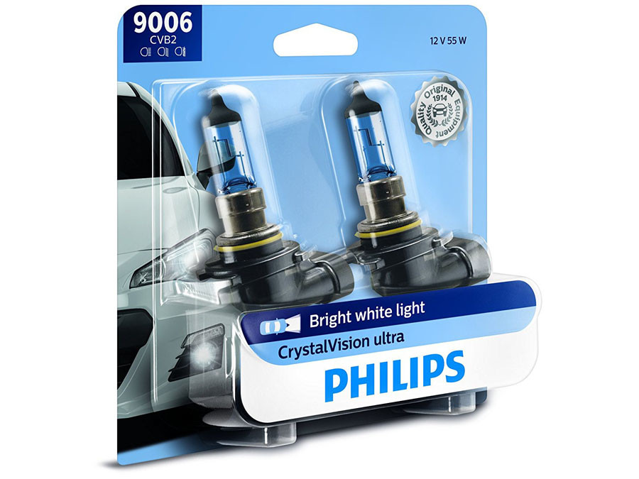 Enclosed package of Philips Crystal Vision 9006/HB4