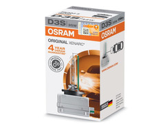 Single package of Osram Xenarc Original HID D3S bulb