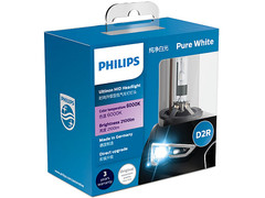 Dual package of PHILIPS Ultinon HID Bulbs 6000K 85126WXX2 D2R