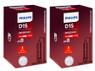 Set of Philips X-treme Vision +150% HID Xenon headlight bulbs 85415XV2C1 D1S