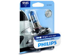 Single package of Philips Crystal Vision halogen bulbs 4000K 9145CVB2  9145