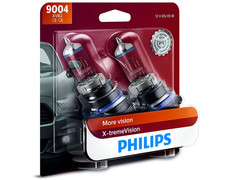 Dual package of Philips X-treme Vision +100% halogen bulbs 3400K 9004XVB2 9004/HB1