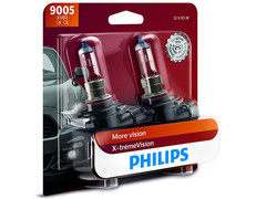 Dual package of Philips X-treme Vision +100% halogen bulbs 3400K 9005XVB2 9005/HB3