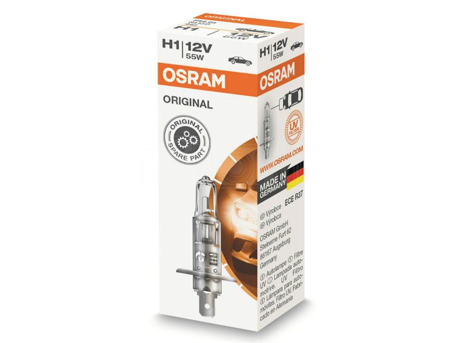 Single package of Osram Original Standard Halogen bulb 64150 H1