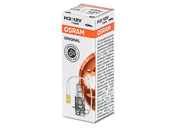 A single package of Osram Original Standard Halogen bulb 64151 H3