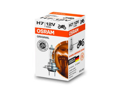 A single package of Osram Original Standard Halogen bulb 64210 H7