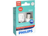 Enclosed package of Philips Ultinon LED Red Interior/Exterior bulbs 1157