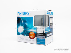 PHILIPS Ultinon HID Bulbs 6000K 42406WXX2 D4R