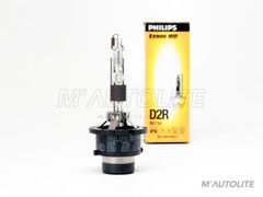 D2R - PHILIPS OEM 4300K 85126 HID headlight bulb (Pack of 1) (PH-D2R-4K)