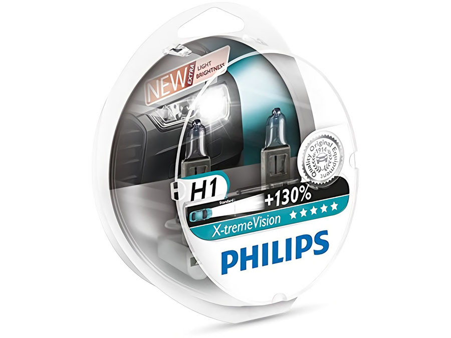 25470961492 Enclosed package of PHILIPS X-tremeVision +130% H1