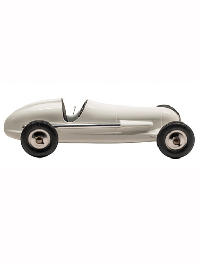 Authentic Models PC010W Indianapolis Tether Car Replica, White