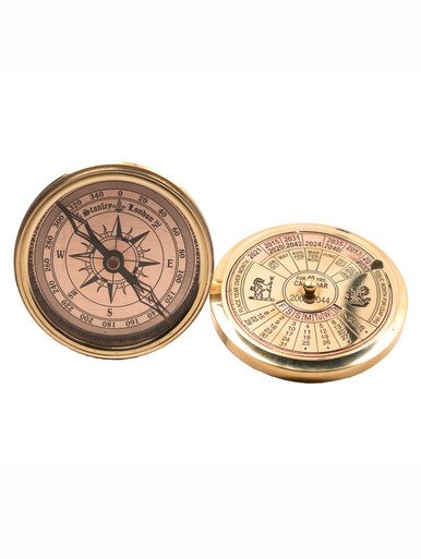 Authentic Models CO030 40-Year Perpetual Calendar Compass