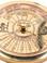 Authentic Models CO030 40-Year Perpetual Calendar Compass Detail Calendar