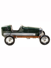 Authentic Models PC012G Bantam Midget Tether Car Green Right Side