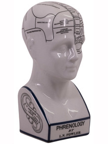 Authentic Models MG024 Phrenology Porcelain Head