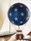 Authentic Models AP163BS Royal Aero Helium Blue Stars Balloon Inset