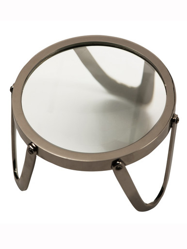 Authentic Models AC044 Desk Magnifier 3 inch, Brass