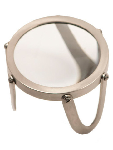 Authentic Models AC047 Desk Magnifier 3 inch, Pewter