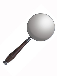 Authentic Models AC099S Magnifying Glass, Silver