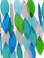 Gift Essentials Blue Handworks Ocean Waterfall Windchime Detail