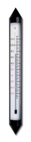 Analog Garden Thermometer Aluminum Bronze 18 inch Hokco