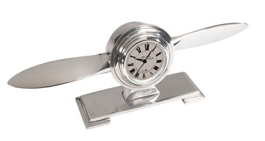Authentic Models AP111 Propeller Desk Clock