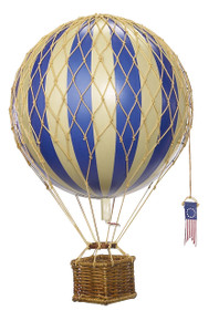 Authentic Models AP161D Travels Light Helium Blue Balloon