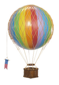 Authentic Models AP161E Travels Light Helium Rainbow Balloon