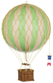 Authentic Models AP161G Travels Light Helium Green Balloon