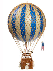 Authentic Models AP163D Royal Aero Helium Blue Balloon