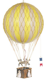 Authentic Models AP163Y Royal Aero Helium Yellow Balloon