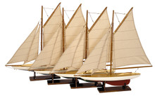 Authentic Models AS057A Mini Pond Yachts (4)