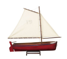 Authentic Models AS140F Sailboat Madeira Y9, Red
