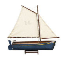 Authentic Models AS142F Sailboat Madeira Y6, Blue