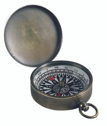 Pocket Compass Bronzed CO002B
