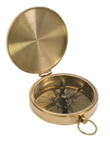 Authentic Models CO003 Brass Pocket Compass