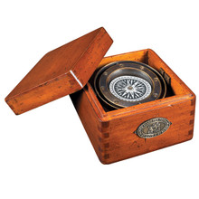 Authentic-Models-CO015-Lifeboat-Compass with Lid