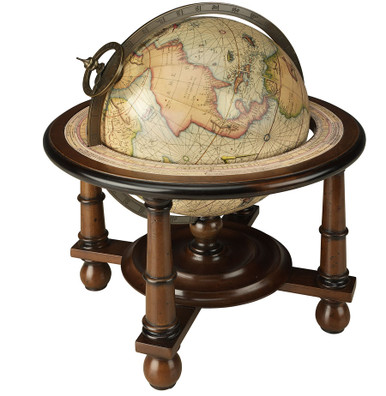 Navigator's Terrestrial Globe by Authentic Models GL023F
