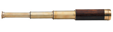 Authentic Models KA036 Officer's Spyglass Brass