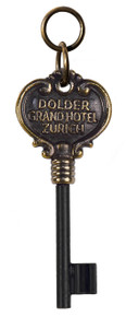 Authentic Models KC102 Grand Hotel Den Dolder Zürich Key Ring