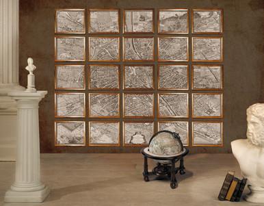 Map 1739 Paris Portfolio by Authentic Models MC800