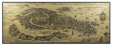 Giclée Wall Map Venice from 1694 MC820