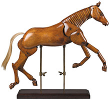 Authentic Models MG006F Large Articulated Artist Horse