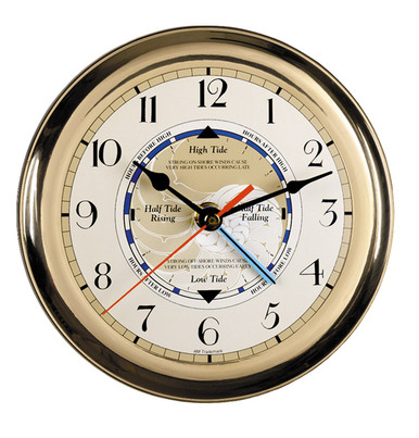 Captain's Time & Tide Clock by Authentic Models SC042